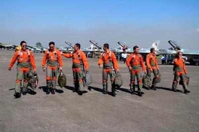 Penerbang Tempur TNI-AU. PROKIMAL ONLINE Kotabumi Lampung Utara