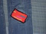 Remiendo pantalón crochet