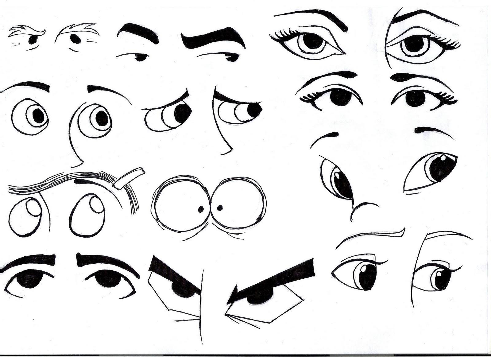 Mewarnai Mata Menggambar Dan Mewarnai