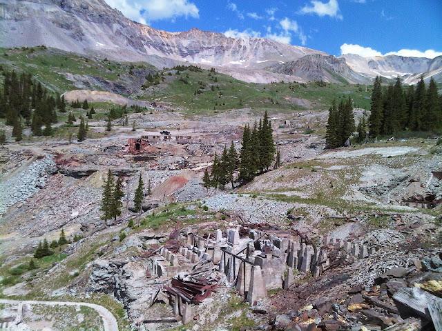 tomboy mine site
