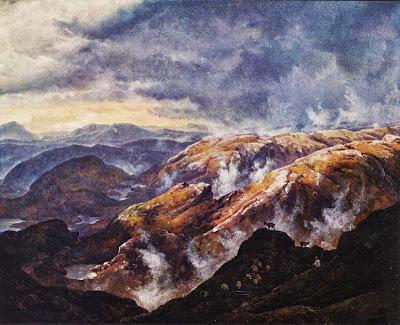 Johan Christian Dahl - Lyshornet near Bergen