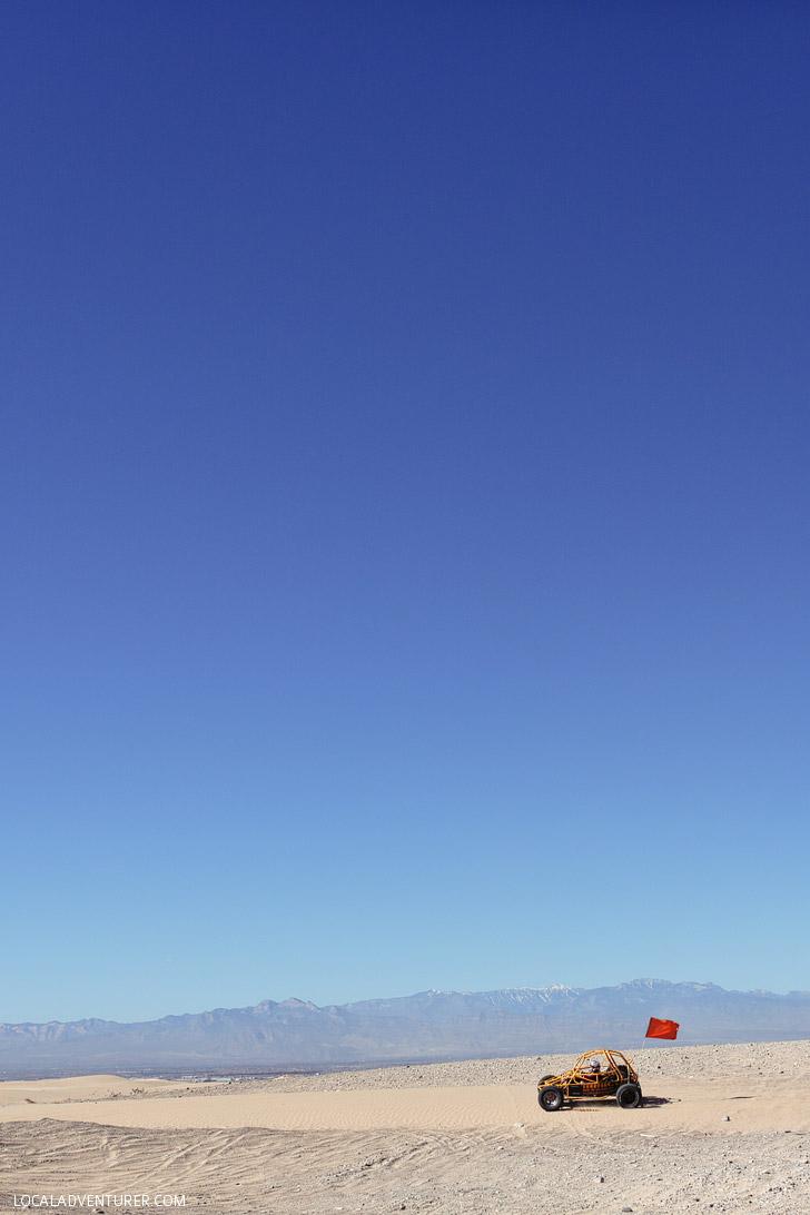 Sunbuggy Las Vegas Dune Buggy Rental.