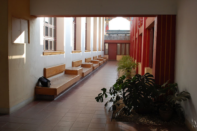 5th floor Hallway of shrine hall at Pullahari