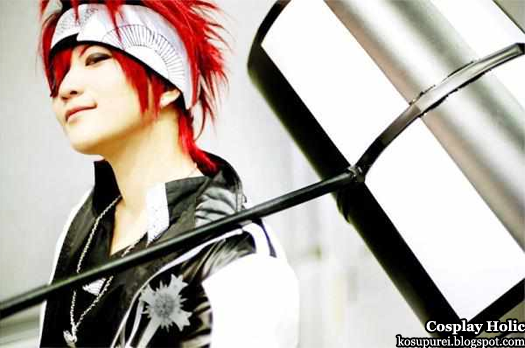 d. gray-man cosplay - lavi 5