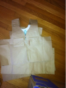 Lil Party Animals Paper Bag Safari Vest Tutorial