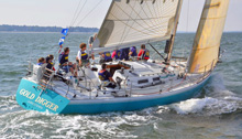 J/44 offshore cruising racing sailboat- sailing Long Island