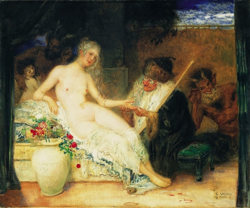 Eduard Veith - Young beauty and the fortune teller