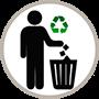 Jeter les produits suspects mais recycler les emballages
