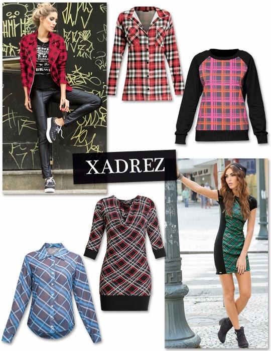 comprar roupa xadrez online