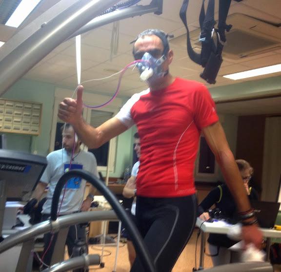 Álvaro Rodríguez, corredor de Fdmescyl, durante una prueba de Pendiente Positiva. /FDMESCYL