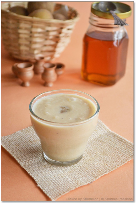 Chikku Milkshake Recipe