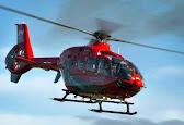 Welshpool man saved in night flight drama