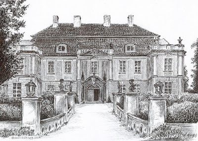 Pałac w Raszowej – stan przed 1945 r.