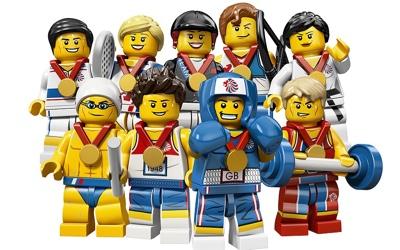 Londres: Lego y las olimpiadas  2012