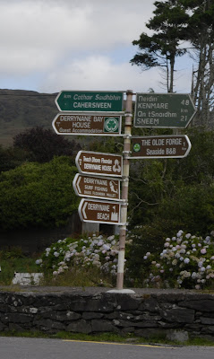 road signs Ireland