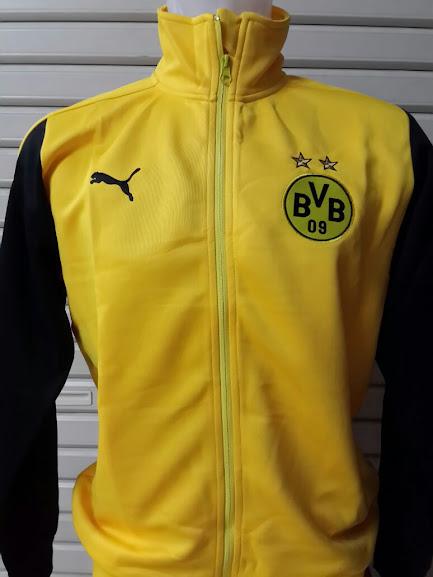 Jual Jaket Borusia Dortmund Kuning Lengan Hitam 2014-2015