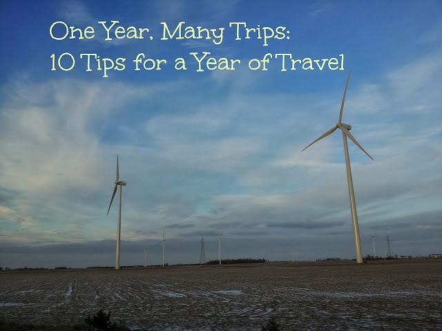 One year, many trips: 10 tips for a year of multi-trip travel