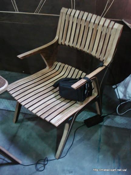 Фанерное кресло PLITOS