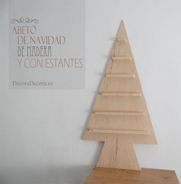 hacer un rbol de navidad de madera - Arbol De Navidad De Madera