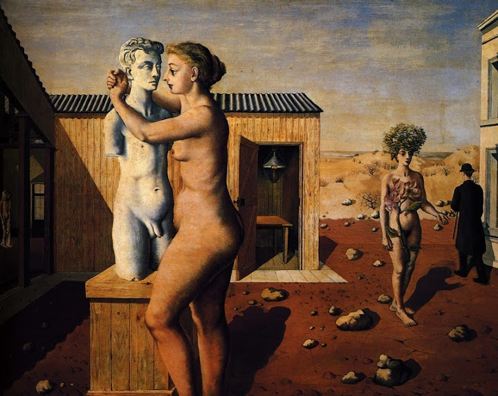 Paul Delvaux - Pygmallion, 1939