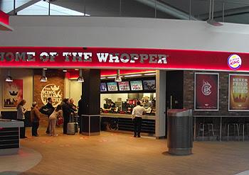 Burger King Aeroport Dublin