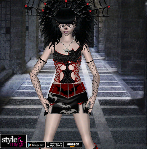 Style Me Girl Level 18 - Penelope - Halloween