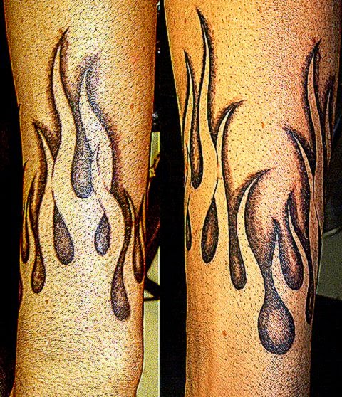 Flame tattoo free tattoo pictures for Tattoo pictures of flames