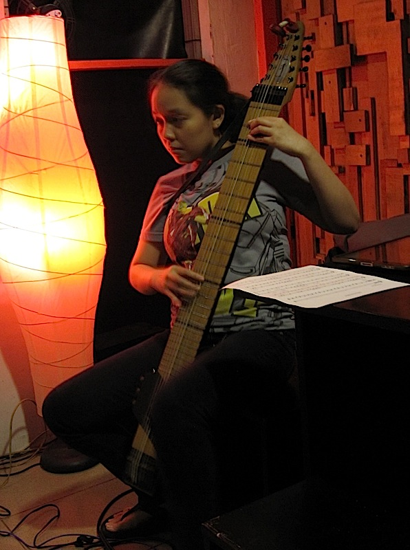 Abby Clutario and her Chapman Stick