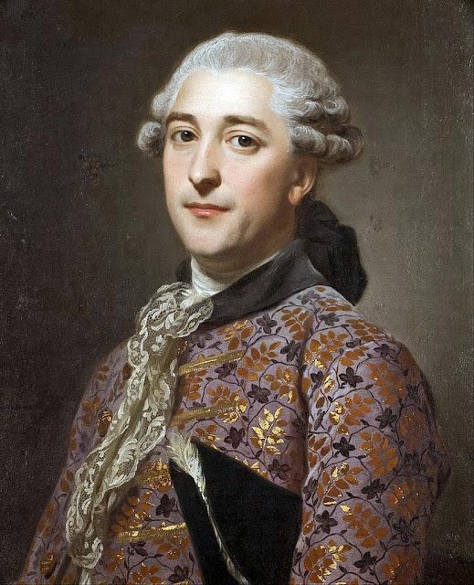 Alexander Roslin - Portrait of Prince Vladimir Golitsyn Borisovtj - Google Art Project