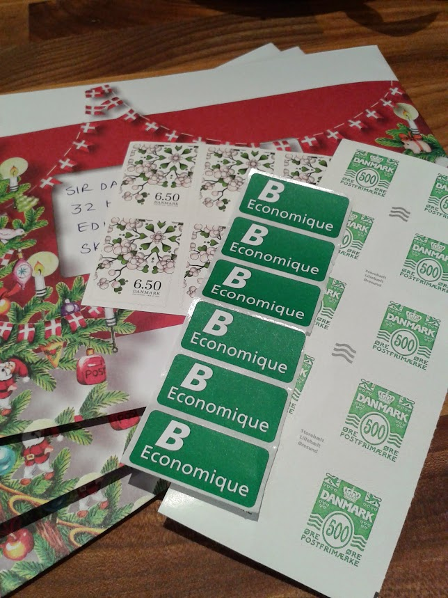 My danish christmas advent calendar 10 december cards and post m4hsunfo