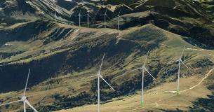Survol de site éolien industriel Berra - Cousimbert