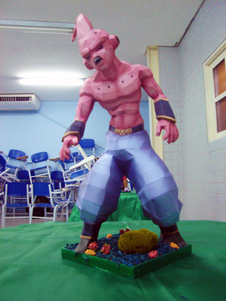 Kid Buu Papercraft