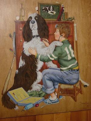 Atelier bois et couleurs mars 2011 - Je suis absente du bureau ...