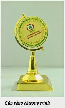 """Vinh dự nhận giải thưởng """"Sản phẩm vàng vì sức khỏe cộng đồng"""""""