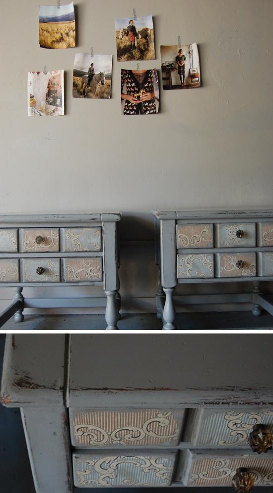 Muebles pintados I  Tránsito Inicial