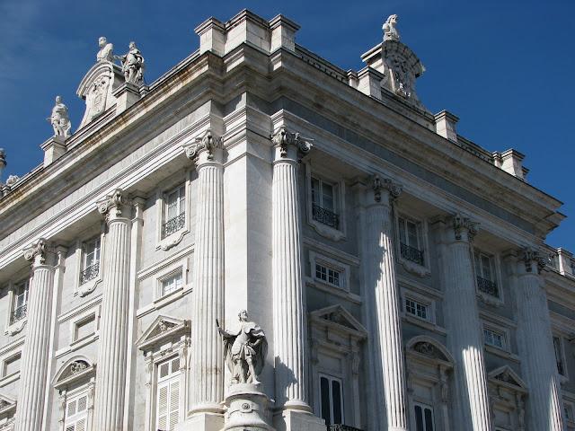 El Palacio Real façade