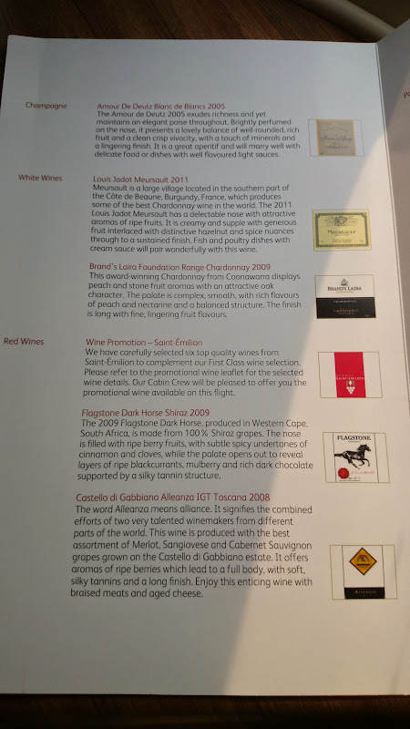 DSC 2898 - REVIEW - Cathay Pacific : First Class - Hong Kong to Tokyo (B747)