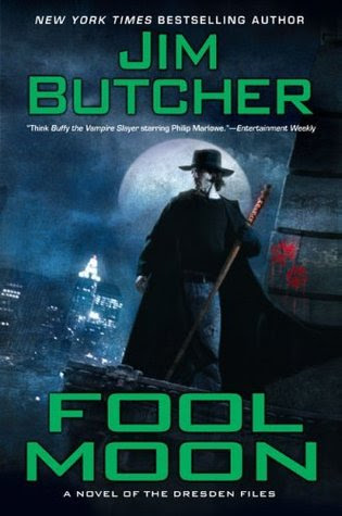 Fool Moon (The Dresden Files Book #2), By Jim Butcher Cover art