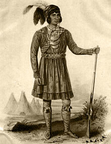A Seminole Warrior Cloaked in Defiance
