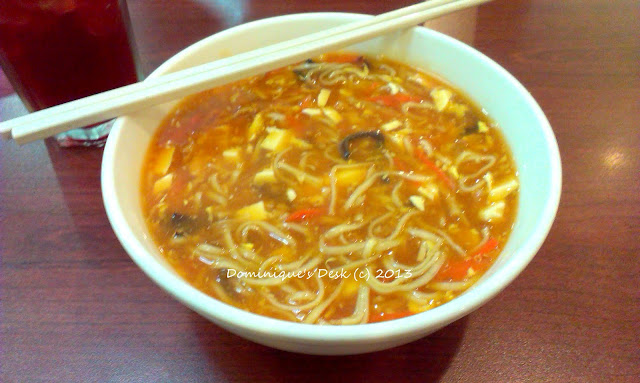 Hot and Sour Noodles