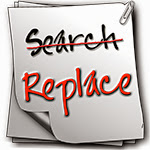Search and Replace Search and Replace in Notepad++