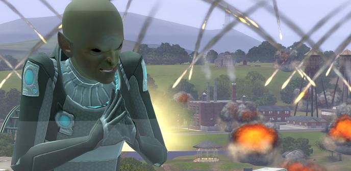Alien con malas intenciones