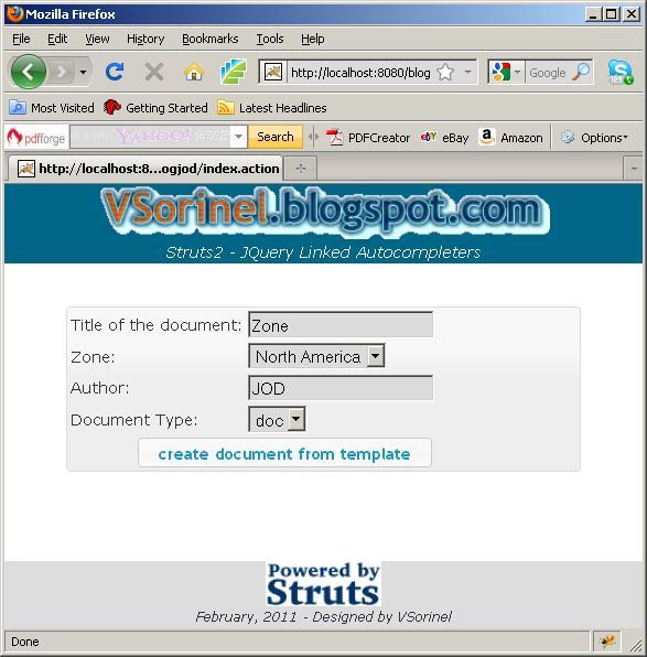 Pdf struts 2 documentation
