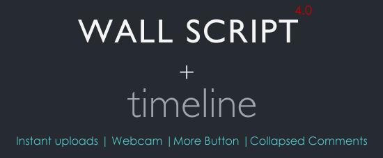 Facebook Style Dynamic Timeline for Wall Script.
