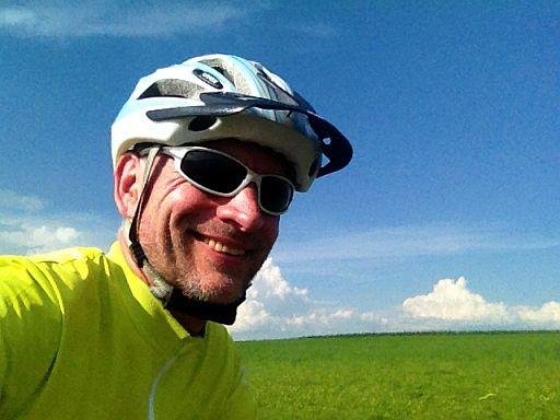 Chris on the Bike im Vogelsbergkreis
