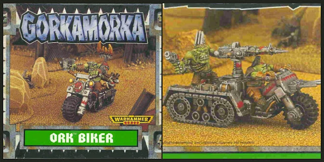 Motos Orcos Gorkamorka de Games Workshop