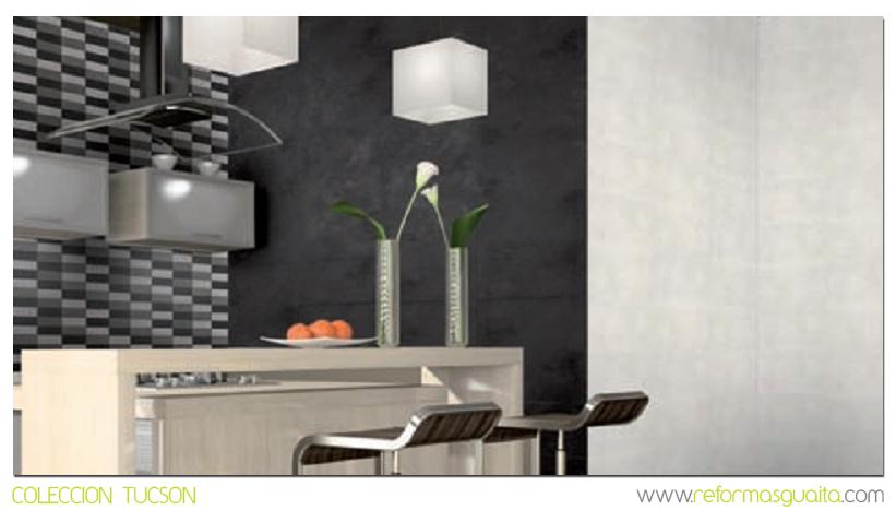 Colecci n tucson de azulejos reformas guaita - Cocinas con azulejos beige ...