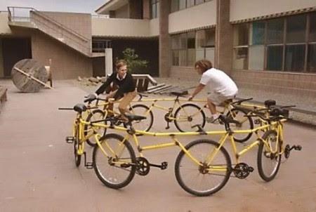 аттракцион с велосипедов