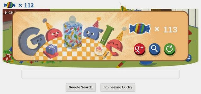 Google Ulang Tahun ke 15