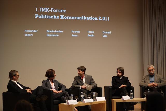1. IMK-Forum 2011 politische Kommunikation